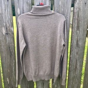 Tan long sleeve turtle neck size small
